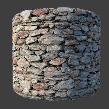 seamless masonry wall 3d model