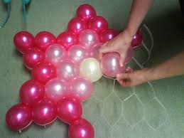 balloon decoration party favors ideas