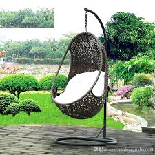 hanging chair outdoor basket rattan rocking swing chairs for outside uk