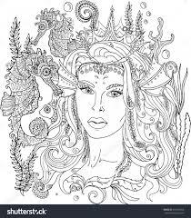 Little Mermaid Coloring Pages Wwwallanlichtmancom