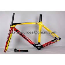 Look 695 Geometry Chart Look 695 Carbon Fiber Road Bike Bicycle Frame Yellow Look Frame