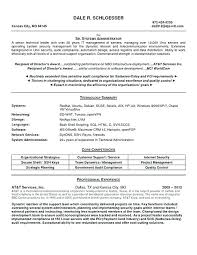 Systems Administrator Resume Examples Best Of It System Administrator Resume Sample Also System Administrator