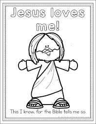 Our valentine's day coloring pages are free to download and share in. Jesus Loves Me Coloring Pages Free Printables Set For Kids