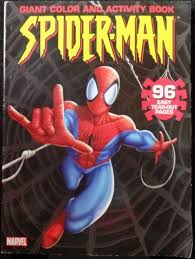 You can easily print or download them at your convenience. Spiderman Book Giant Color Activity Coloring Maze Venom Green Goblin Draw Web 05 Ebay