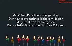 Lll Sprüche Zum 50 Geburtstag Lustige Und Originelle Sprüche