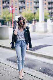 style expert jill lansky of the august diaries shows how to wear a leather jacket to