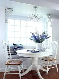 breakfast table with storage furniture round regarding nook decorations canada