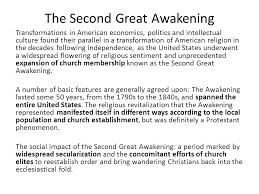 essay on the great awakening ga essay on the great awakening