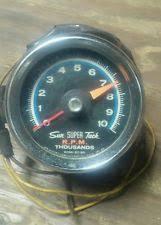 sun super tach parts accessories sun super tach 9 000 rpm w cup mount blue face