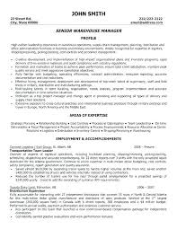 Sample Resume Warehouse Skills List How To List Skills On A Resume