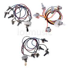 3 sets different guitar wiring harness box type 3 way toggle 3 sets different guitar wiring harness box type