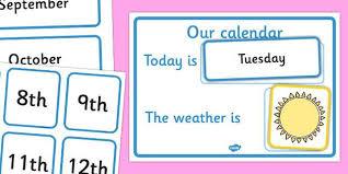 Daily Calendar Weather Chart Mini Beasts Daily Calendar
