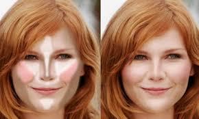 face contouring round face. 3 tips for contouring your face. round contour face a