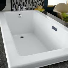 inch everclean air bath white bathtub