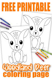 Commercial use is strictly prohibited. Free Printable Woodland Animal Coloring Pages Simple Mom Project