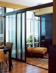 Custom Interior Glass Room Dividers contemporary-living-room