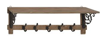 Traditional Coat Rack Ophelia Co Falbo Traditional Wall Mounted Coat Rack Reviews 31