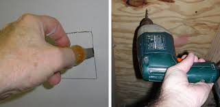 how to run wires in existing walls and