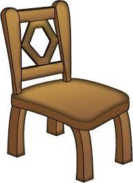 wooden chair clipart. chair clipart wooden o