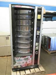 Refrigerated Vending Machine Beauteous Crane Shoppertron 48 Rotating Cold Food Refrigerated Vending
