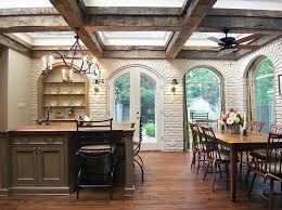 rustic dining room lighting design with ceiling fan lamp and candle chandelier large size