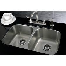 chic kitchen sink double bowl undermount stainless steel 31 inch undermount double bowl 18 gauge kitchen