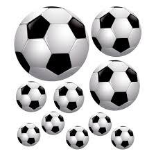 Muurstickers Voetbal Set Van 10 Online Kopen Lobbes Speelgoed