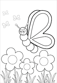 insect coloring pages preschool bugs page ladybug color free printable
