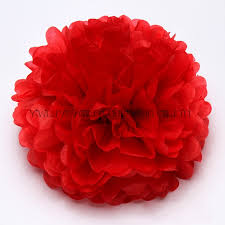 Large Tissue Paper Flower Us 5 76 5 Off 29 Colors Avilable Large Tissue Paper Flowers Balls Party Decor 18inch 45cm 2piece Lot Handmade Paper Pom Pom Free Shipping In