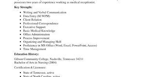 Resume Layout Examples Medical Resume Templates 100 Healthcare Resume Template For 77