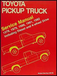 1982 toyota pickup truck electrical wiring diagram original 1978 1982 toyota pickup truck bentley repair shop manual gas and diesel