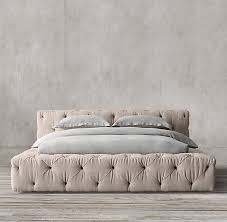 tufted bed. Soho Tufted Fabric Platform Bed. COLOR PREVIEW UNAVAILABLE Bed