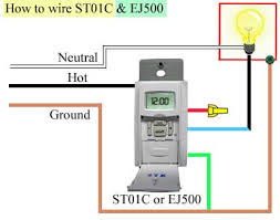 how to program and install st01c timer how to wire st01c