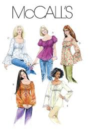 Mccalls Pattern Enchanting McCall's 48 Tops and Tunics