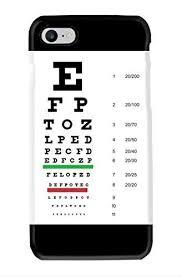 Eye Chart On Phone Amazon Com Snellen Pocket Eye Chart Cell Phone Case For