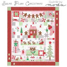 Sugar Plum Christmas Quilt KIT Moda | Fort Worth Fabric Studio & Sugar Plum Christmas Quilt KIT Moda Adamdwight.com