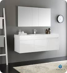 modern bathroom furniture cabinets. fresca mezzo 60 modern bathroom furniture cabinets a
