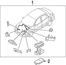 parts com® kia upper cover relay partnumber 919401g010 2007 kia rio lx l4 1 6 liter gas wiring harness