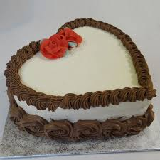 Heart Shaped Cakes For Wife Girlfriend Couple In Ahmedabad