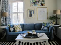 Ikea Living Room Curtains Ikea Stockholm Rug Blue Velvet Couch Picasso Line Drawing