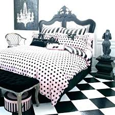 polka dot comforters comforter black and white queen set bedding twin pink