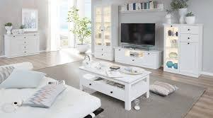 Kommode Weiss Landhaus Sideboard Anrichte Wohnzimmer