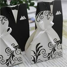 black and white bride and groom favor boxes ewfb054 as low as $0 48 Wedding Favor Ideas Black And White popular black and white wedding favor boxes and gifts wedding favor ideas black and white