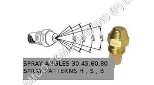Fuel Oil Nozzle Chart Danfoss Oil Nozzle Manufacturer Supplier Exporter