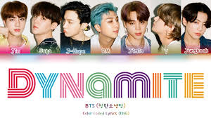 BTS (방탄소년단) - 'Dynamite' LYRICS (Color Coded Lyrics Eng) - YouTube
