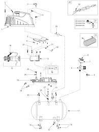 C bell hausfeld fp209402 parts diagram for air pressor parts