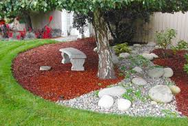 Garden Design Rock Landscaping In Addition To A Beautiful Interior
