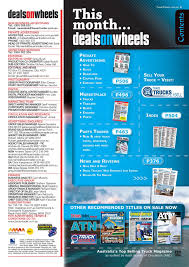 picture of deals on wheels magazine subscription