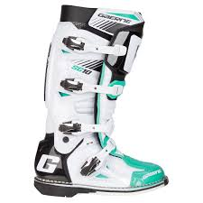Gaerne Mx Boots Sg 10 Color Edition Green White