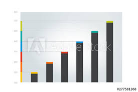 Chart Graph Scheme Simply Color Editable Infographics